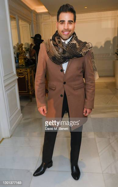 Dr Ranj Singh attends the Kolchagov Barba show during London Fashion Week February 2020 at Melia White House Hotel on February 16 2020 in London...