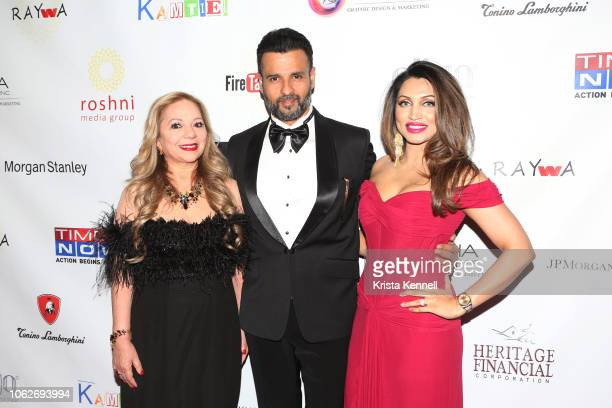 Dr Rashmee Sharma Rohit Roy and Mani Kamboj attend as Jean Shafiroff is Honored at Raising Awareness For Young Women with Autism at The Pierre Hotel...