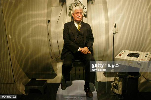 Dr Raymond Damadian poses near an MRI machine at his Long Island office A Biblebelieving Christian this inventor is convinced of the scientific truth...