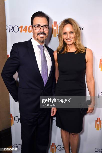 Dr Richard G Pestell and Beri Smithers attend CytoDyn's Pro 140 Awareness Event for HIV and Cancer Prevention at The Roosevelt Hotel in Hollywood on...