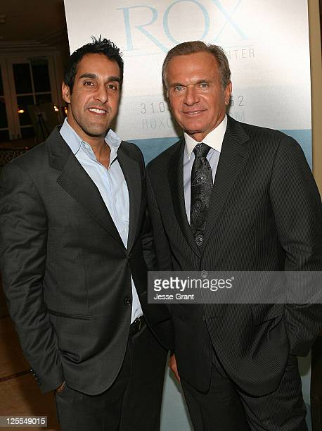 Dr Ritu Chopra and Dr Andrew Ordon attend A Season of Giving for Surgical Friends Foundation event at The Mosaic Hotel on November 4 2010 in Beverly...