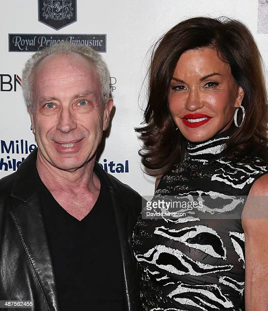 Dr Robert Gerner and TV personality Janice Dickinson attend 30 Years of Music Art Fashion benefiting Miller Children's Hospital at The Attic on April...