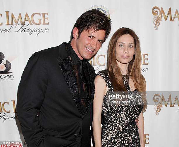 Dr Robert Rey and his wife attend the hollwood award night at Beverly Garland Hotel on May 3 2013 in Los Angeles California