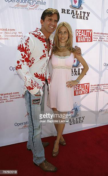 Dr. Robert Rey and wife Hayley attend Reality Care's Reality All-Stars Charity Event at Joseph's on June 30, 2007 in Los Angeles, California.