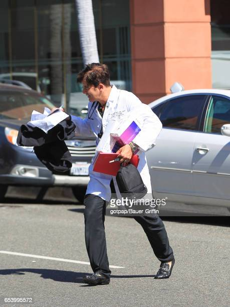 Dr Robert Rey is seen on March 15 2017 in Los Angeles California