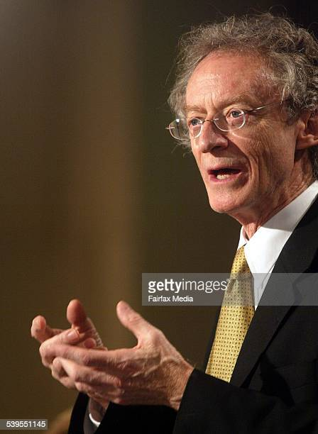 Dr Robin Batterham, Government Chief Scientist, speaking at The ...