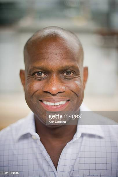 Dr Rodney Wright board of directors Aids HealthCare Foundation poses for a photo before greeting Advocates from eight states that are arriving to...
