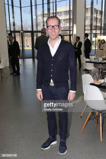 Dr Roger Diederen during the Gentlemen Art Lunch at Pinakothek der Moderne on March 13 2017 in Munich Germany