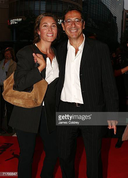 Dr Roger Schawinski head of German television station SAT1 and his wife Gabriella Sontheim attend the First Steps 2006 Awards at the Theater am...