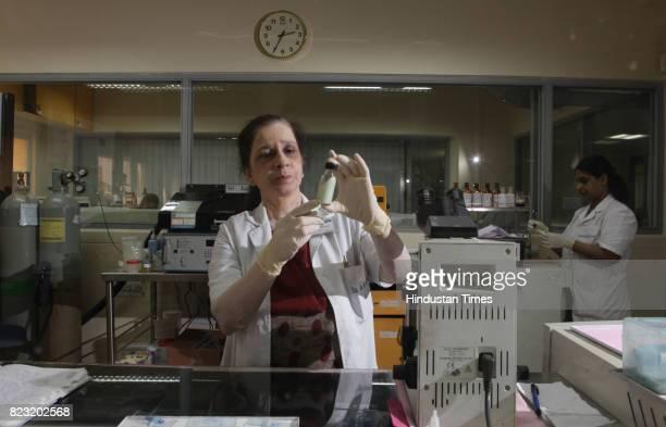 Dr Rohini Kelkar at MicroBiology Dept Tata Memorial Hospital in Parel