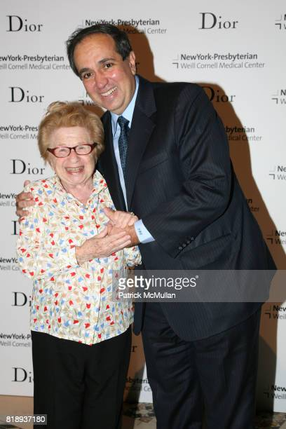 Dr Ruth and Dr Frank Chervenak attend The 25th Anniversary New York Presbyterian LyingIn Hospital Fashion Show and Luncheon featuring DIOR Fall 2010...