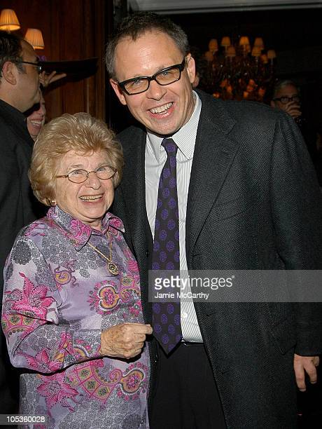 Dr Ruth Westheimer and Bill Condon writer/director