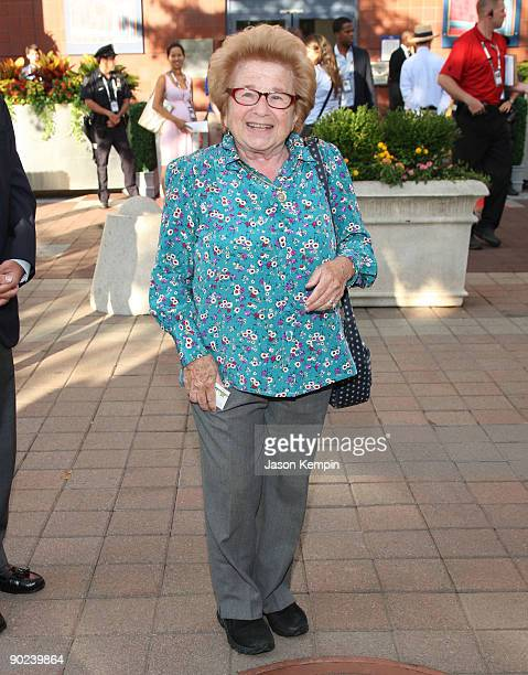 Dr Ruth Westheimer attends the 9th Annual USTA Serves OPENing Gala at the USTA Billie Jean King National Tennis Center on August 31 2009 in New York...