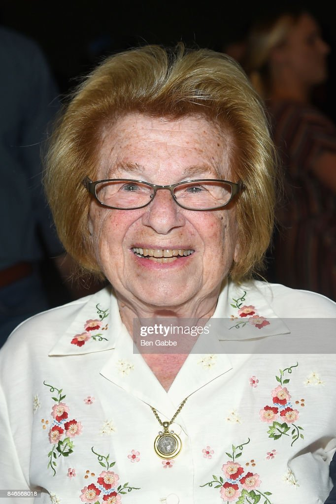 Dr. Ruth Westheimer attends the Zang Toi fashion show during New York Fashion Week: The Shows at Gallery 3, Skylight Clarkson Sq on September 13, 2017 in New York City.