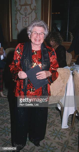 Dr. Ruth Westheimer during The Drama League Salutes Liza Minnelli at The Pierre Hotel in New York City, New York, United States.