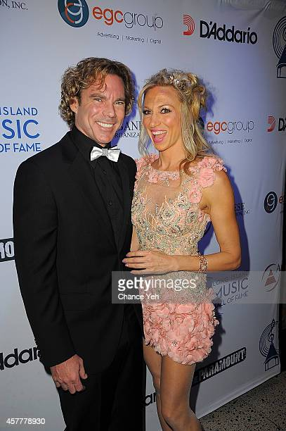 Dr. Rutledge Taylor and Debbie Gibson attends 2014 Long Island Music Hall Of Fame Gala at The Paramount Theater on October 23, 2014 in Huntington,...