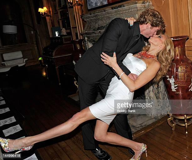 Dr Rutledge Taylor and Debbie Gibson attends the 2nd Annual Gibson Girl Foundation Benefit at Oheka Castle on May 21 2012 in Huntington New York