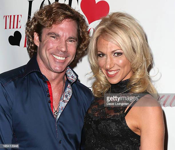 Dr Rutledge Taylor and recording artist Debbie Gibson attend iiJin's Fall/Winter 2013 The Love Revolution fashion show at Avalon on April 3 2013 in...