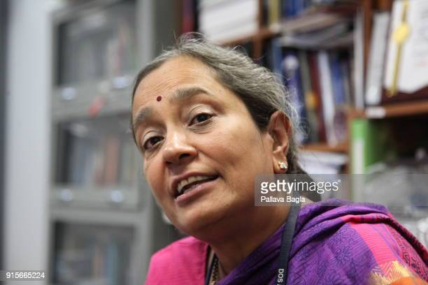 Dr S Seetha the head of the space science program at the Indian space agency The Indian Space Research Organisation or ISRO is putting finishing...