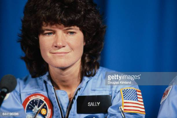Dr Sally Ride became the first American woman in space when she flew on the Challenger STS7 mission