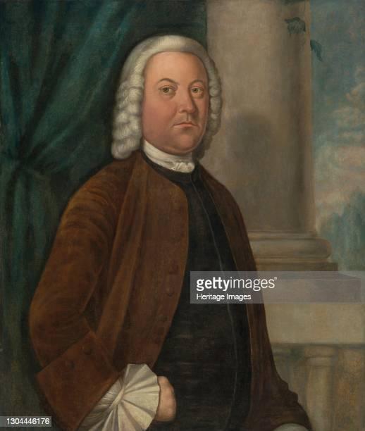 Dr. Samuel Boude, 1755/1756. Artist Benjamin West.