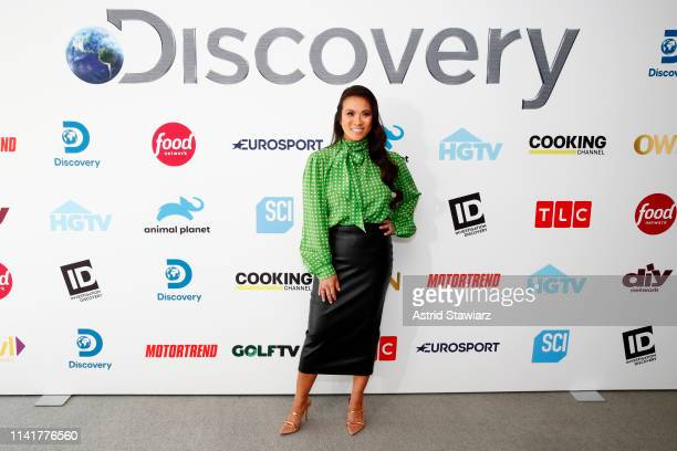 Dr Sandra Lee aka Dr Pimple Popper attends Discovery Inc 2019 NYC Upfront at Alice Tully Hall on April 10 2019 in New York City