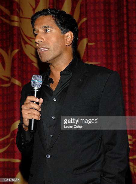 JPG Dr Sanjay Gupta at the premiere of CNN's Planet in Peril at Grauman's Chinese Theatre on October 17 2007 in Hollywood California