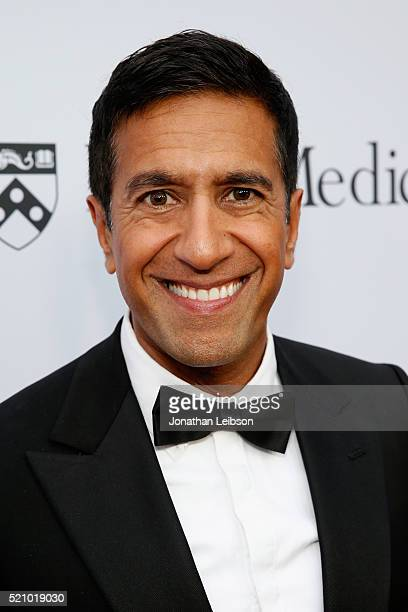 Dr Sanjay Gupta attends the launch of the Parker Institute for Cancer Immunotherapy an unprecedented collaboration between the country's leading...