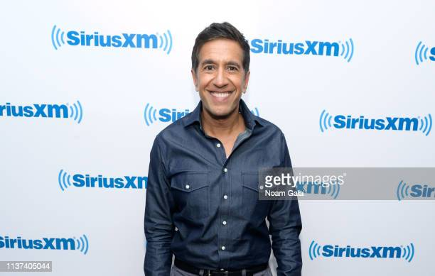 Dr Sanjay Gupta visits the SiriusXM Studios on March 21 2019 in New York City