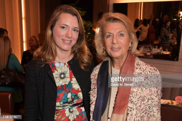 Dr Sarah McClelland and Antigone Newton attend a lunch hosted by Amanda Staveley for 'Wellbeing Of Women', Britain's foremost female health charity...