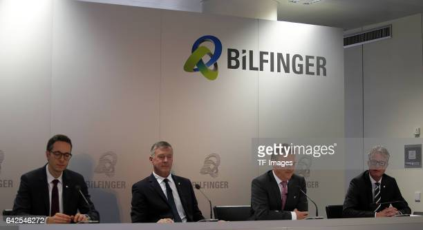 Dr Sebastian Rudolph Head of Corporate Communications Tom Blades Chairman of the Executive Board Dr Klaus Patzak Chief Financial Officer Michael...
