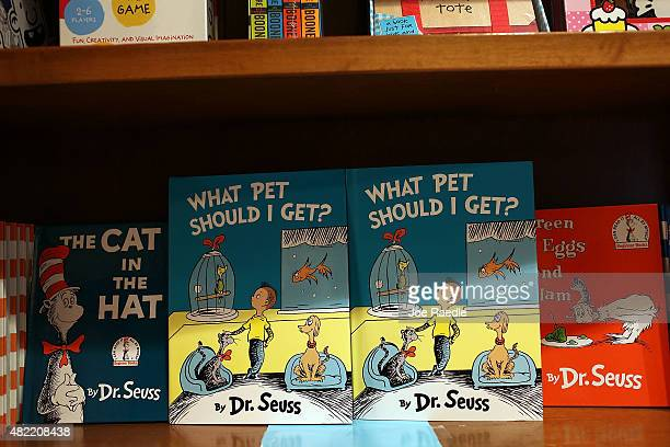 Dr Seuss' neverbeforepublished book What Pet Should I Get is seen on display on the day it is released for sale at the Books and Books store on July...