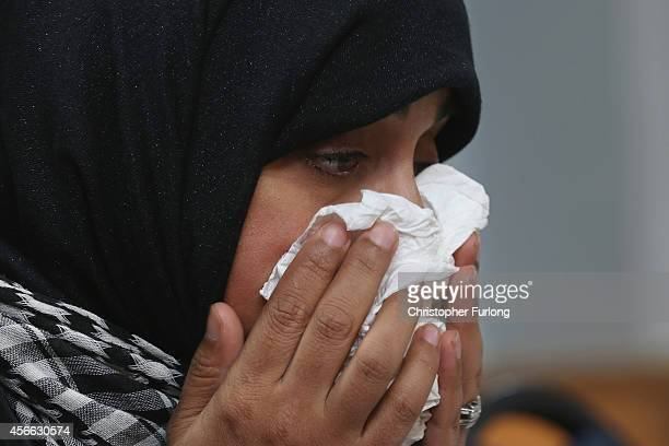 Dr Shameela IslamZulfiqar who accompanied murdered British aid worker Alan Henning on mercy missions to Syria attends a press conference at...