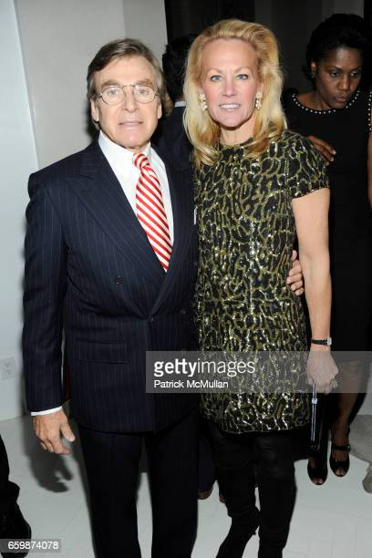 Dr Sherrell Aston and Muffie Potter Aston attend Diandra de Morrell Douglas Anne and Jay McInerney Holiday Party at Private Residence on December 17...