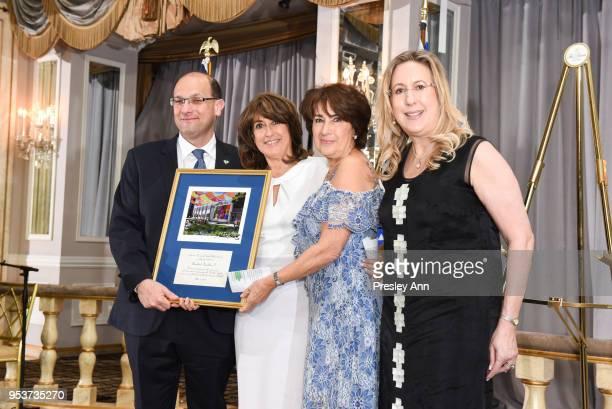 Dr Shlomi Codish Rosalind Franklin Caroline Freidfertig and Rachel Heisler Sheinfeld attend American Friends Of Soroka 6th Annual Gala Benefit Dinner...