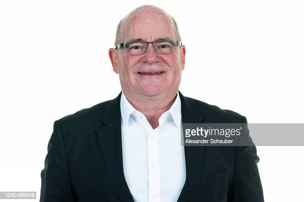 Dr Siegfried Dietrich poses during the 1 FFC Frankfurt Women's team presentation on September 7 2018 in Frankfurt am Main Germany