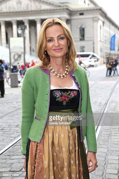Dr Sigrid Streletzki during the 'Fruehstueck bei Tiffany' at Tiffany Store ahead of the Oktoberfest 2015 on September 19 2015 in Munich Germany