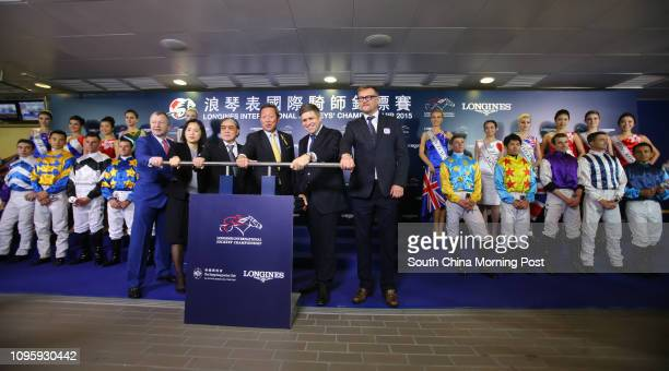 Dr Simon Ip Sikon Chairman of the HKJC Chief Executive Officer Mr Winfried EngelbrechtBresges President of the Sports Federation Olympic Committee of...