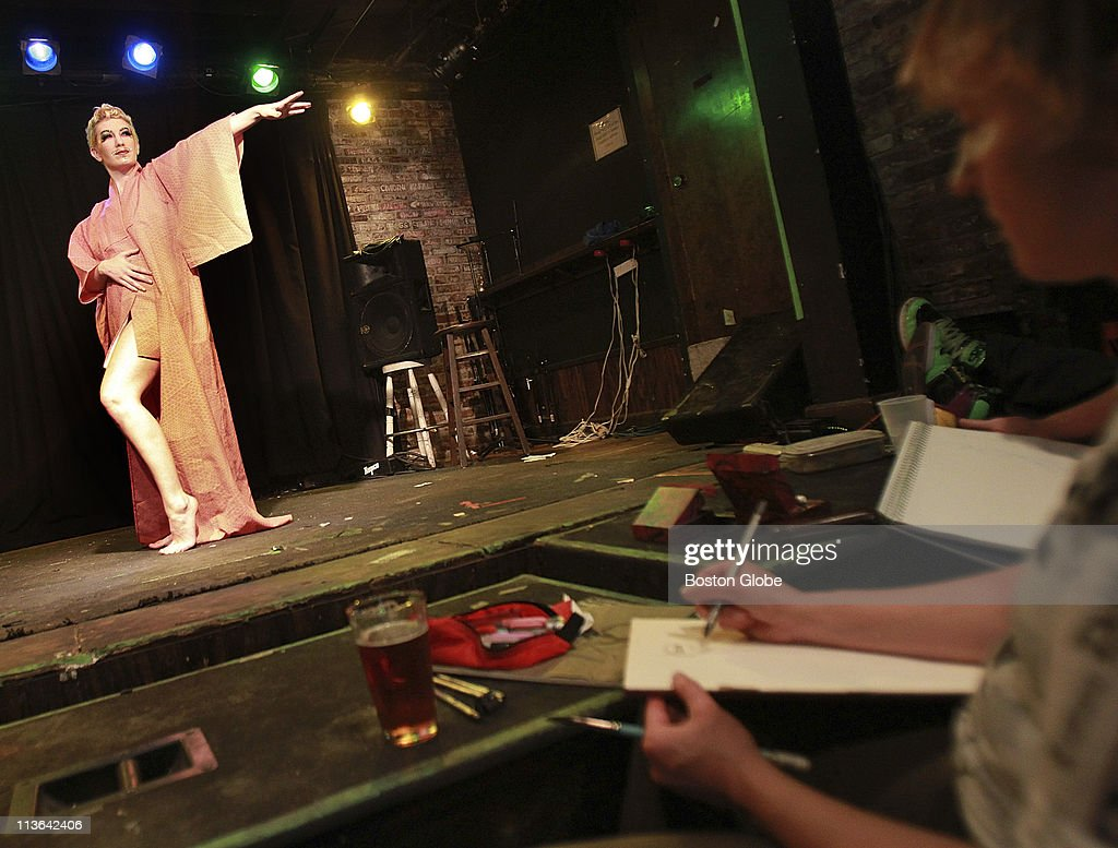 Dr  Sketchy's Anti-Art School Burlesque Life Drawing Session