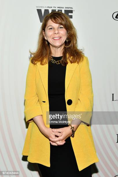 Dr Stacy L Smith attends the Women In Film 2018 Crystal Lucy Awards presented by Max Mara Lancôme and Lexus at The Beverly Hilton Hotel on June 13...