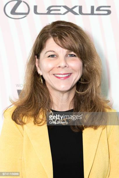 Dr Stacy L Smith attends Women In Film 2018 Crystal Lucy Award at The Beverly Hilton Hotel on June 13 2018 in Beverly Hills California