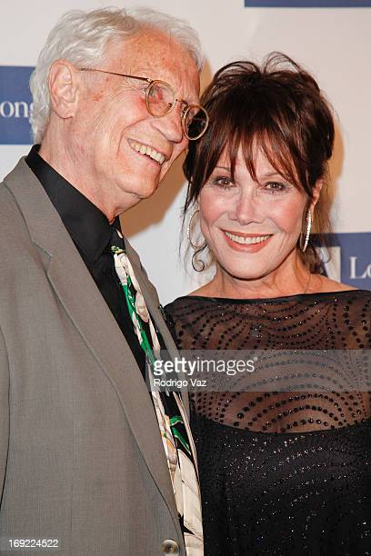 Dr Stanley Frileck and actress Michelle Lee arrive at the 2013 Icon Awards Gala at Beverly Hills Hotel on May 21 2013 in Beverly Hills California
