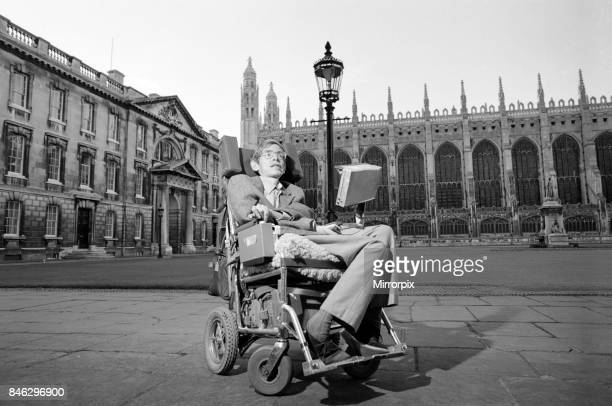 Dr Stephen Hawking Physics professor and author at Cambridge University 1st September 1988