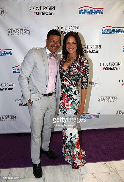 Dr Steve Perry and Soledad O'Brien attend Soledad O'Brien Brad Raymond Starfish Foundation 4th Annual New Orleans To New York City Gala at Espace on...