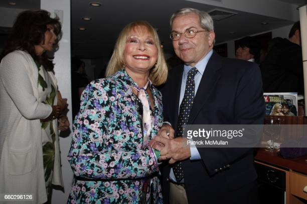 Dr Stuart Super and Tibby Super attend RODOLFO VALENTIN'S Salon Spa Preview Party at 694 Madison Avenue on June 15 2009 in New York City