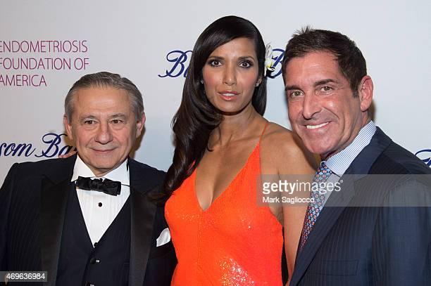 R Dr Tamer Seckin TV Personality Padma Lakshmi and Senator Jeff Klein attend the Endometriosis Foundation of America's 7th Annual Blossom Ball at...