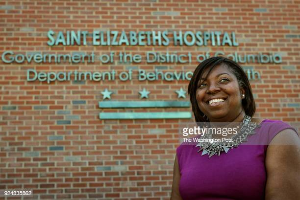 Dr Tanya Royster the district's Department of Behavioral Health Director and currently the interim head of St Elizabeth's Hospital on April 2016 in...