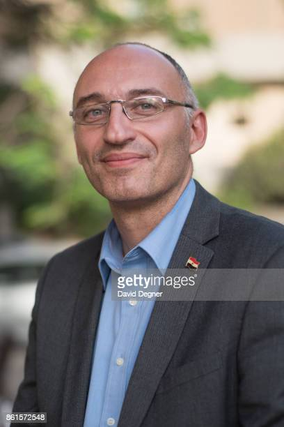 Dr Tarek Tawfik the director of the Grand Egyptian Museum on May 08 2017 in Cairo Egypt The new museum will be another tourist attraction beside the...