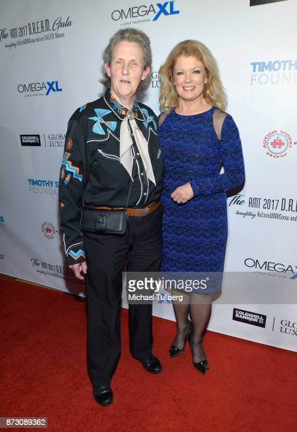 Dr Temple Grandin and Mary Hart attend AMT's 2017 DREAM Gala at Montage Beverly Hills on November 11 2017 in Beverly Hills California