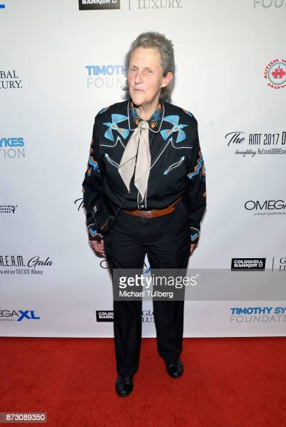 Dr Temple Grandin attends AMT's 2017 DREAM Gala at Montage Beverly Hills on November 11 2017 in Beverly Hills California